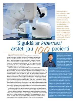``Siguldā ar kibernazi ārstēti jau 100 pacienti``