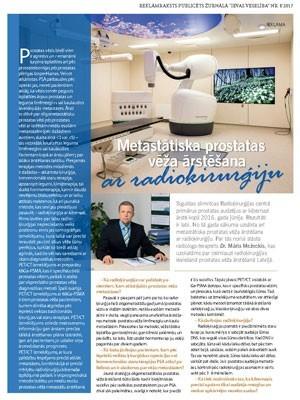 ``Metastātiska prostatas vēža ārstēšana ar radioķirurģiju``
